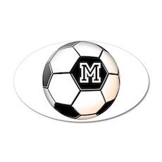 Soccer Ball Monogram Wall Decal