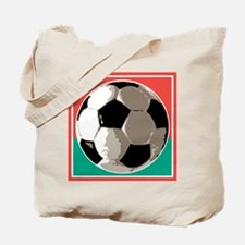 Italian Soccer Ball Design Tote Bag
