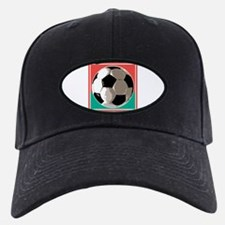 Italian Soccer Ball Design Baseball Hat