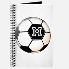 Soccer Ball Monogram Journal