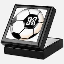 Soccer Ball Monogram Keepsake Box