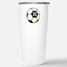 Soccer Ball Monogram Travel Mug