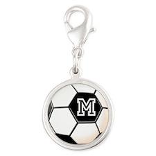 Soccer Ball Monogram Charms