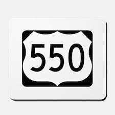 US Route 550 Mousepad