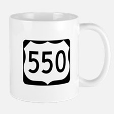 US Route 550 Mug