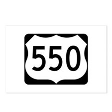 US Route 550 Postcards (Package of 8)