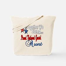 National Guard Aunt Tote Bag