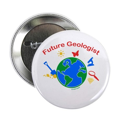 Future Geologist Button