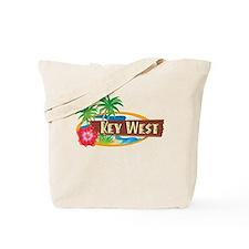 Tropical Key West - Tote or Beach Bag