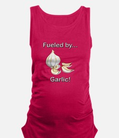 Fueled by Garlic Maternity Tank Top