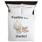 Fueled by Garlic Queen Duvet