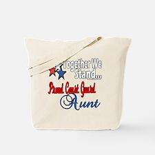 Coast Guard Aunt Tote Bag