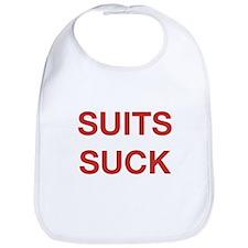 Suits Suck Bib