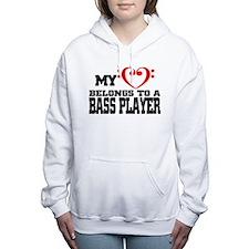 My Heart Belongs to a Ba Women's Hooded Sweatshirt