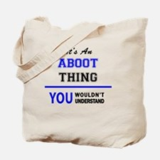 Cute Aboot Tote Bag