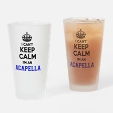 Cool Acapella Drinking Glass