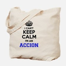 Cute Accion Tote Bag