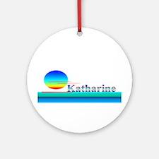 Katharine Ornament (Round)