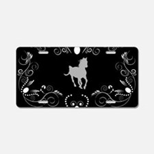 Horse Aluminum License Plate