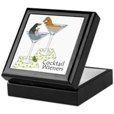 Cocktail Wieners (duo) Keepsake Box