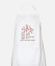 STUCK IN MY FAMILY TREE Apron