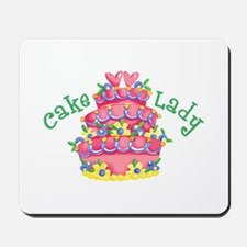 CAKE LADY Mousepad