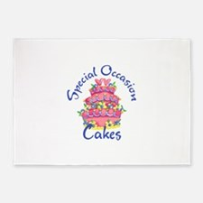 SPECIAL OCCASION CAKES 5'x7'Area Rug