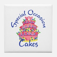 SPECIAL OCCASION CAKES Tile Coaster