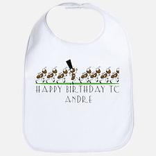 Happy Birthday Andre (ants) Bib