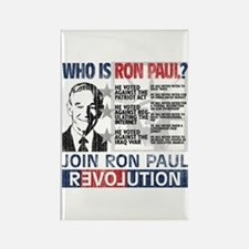 Who is Ron Paul? 'Vintage' Rectangle Magnet