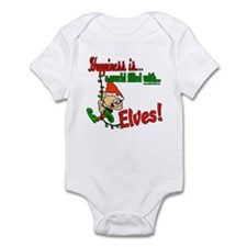 Happiness is an Elf Infant Bodysuit