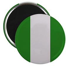 """Nigeria Flag"" 2.25"" Magnet (10 pack)"
