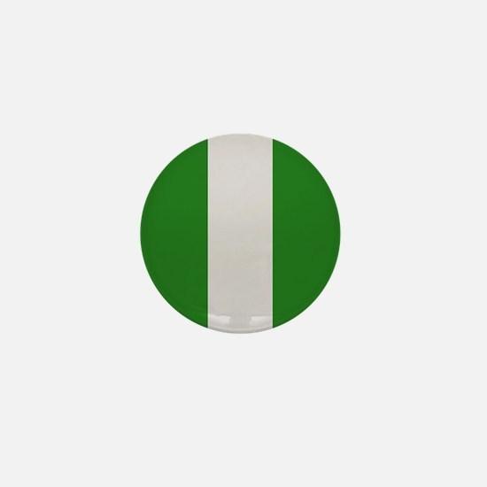"""Nigeria Flag"" Mini Button"