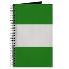 """Nigeria Flag"" Journal"