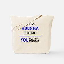 Funny Adonna Tote Bag