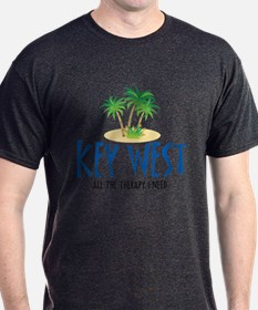 Key West Therapy - T-Shirt