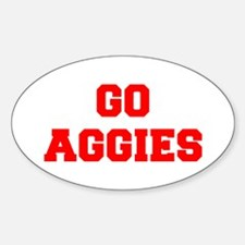 AGGIES-Fre red Decal