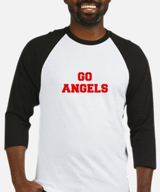 ANGELS-Fre red Baseball Jersey