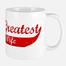 Greatest Pregnant Wife (red) Mug