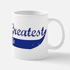 Greatest Pregnant Wife (blue) Mug