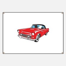 LARGE CLASSIC CAR Banner