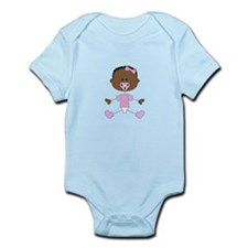 BABY GIRL WITH PACIFIER Body Suit