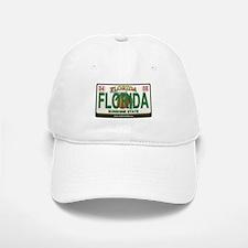 Florida License Plate Baseball Baseball Cap