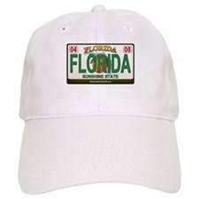 Florida License Plate Baseball Cap