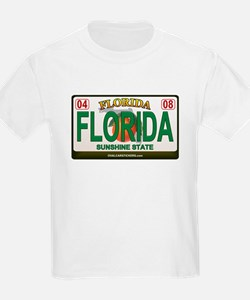 Florida License Plate T-Shirt
