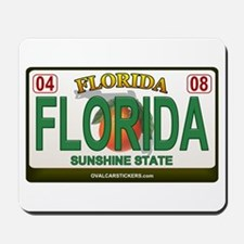 Florida License Plate Mousepad