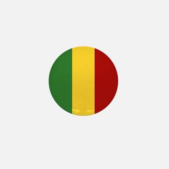 """""""Mali Flag"""" Mini Button"""
