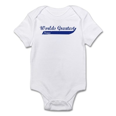 Greatest Nana (blue) Infant Bodysuit