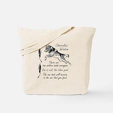 CHEROKEE WISDOM Tote Bag