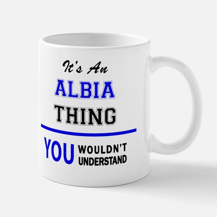 Cute Albia Mug